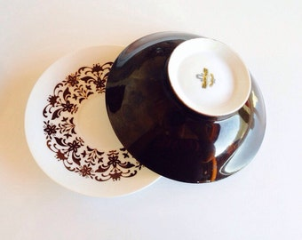 Castile Dinnerware by Harmony House (cereal bowls and plates)