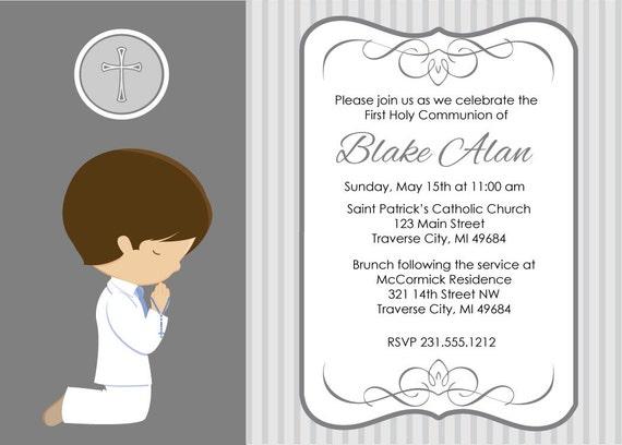 1St Communion Invites as good invitation example