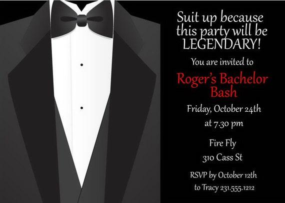Bachelor Party Invitation was amazing invitation design