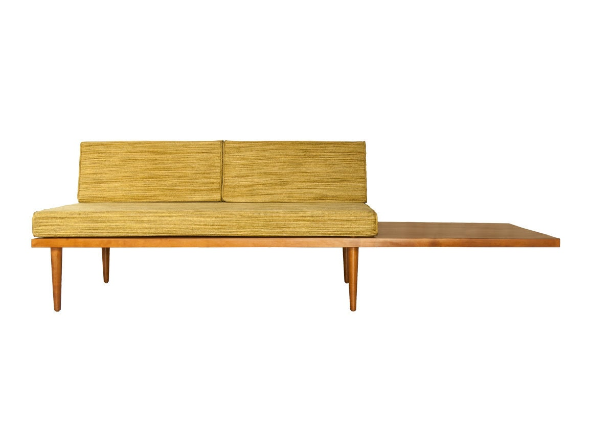 🔎zoom - Mid Century Daybed Sectional Classic Sectional