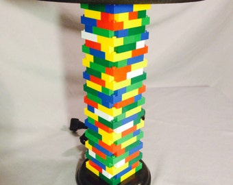 LEGO® Lamp - Multicolored Rainbow