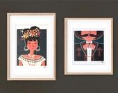 Rosita & Hipolito -  prints