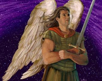 Archangel Michael pendant - Corey Wolfe