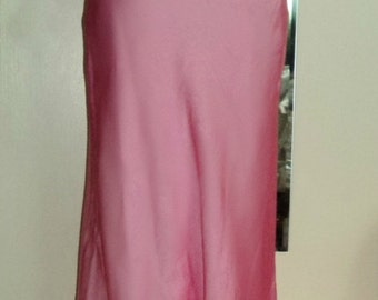PINK Prom Dress - Formal Gown - Two Piece Faviana Size 5