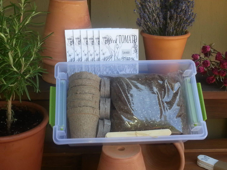 Herb Garden Kit Gardening t kit organic herb by