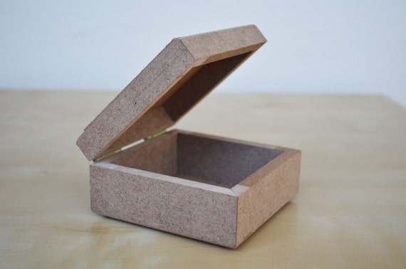 diy wooden box unfinished wood jewelry box by