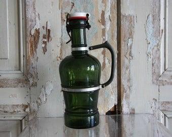 Green, German One Liter Growler