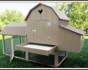 Chicken Coop Kit- Free Shipping- Easy to Assemble- Price Reduced for SPRING SALE!