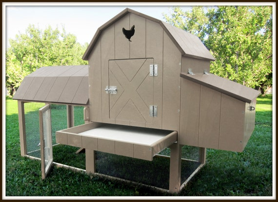 Chicken coop kit free shipping easy to assemble price for Homemade chicken coops for sale