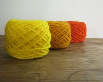Lanaset Dyes for Wool and Silk, Acid Dyes - Yellow, Gold, Orange