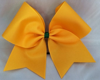 Practice Cheer Bow - Yellow Gold