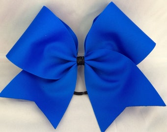 Practice cheer Bow - Royal Blue