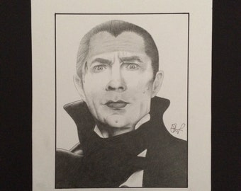 Bela Lugosi as Dracula art print