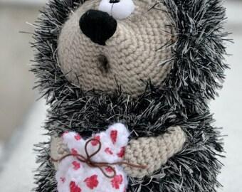 Crochet PATTERN  hedgehog