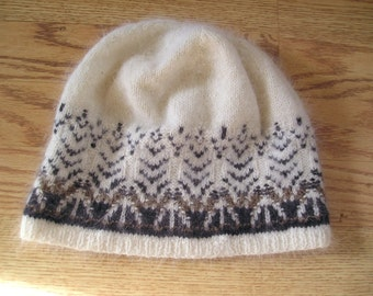 """The Swan Sweater Yarn only- Directions are in the book """"Poems of Color"""" by Wendy Keele"""