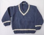 V-Neck Sweater/Jumper - Ladyrose52