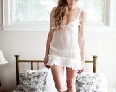 30% OFF SALE! The Lace Chemise, Bridal Lingerie, Wedding Night, Honeymoon
