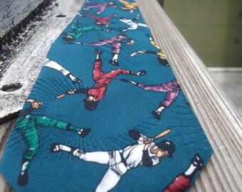 Vintage Baseball Necktie by Max Raab