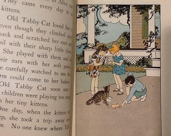 Vintage Illustrated Children's Story Book
