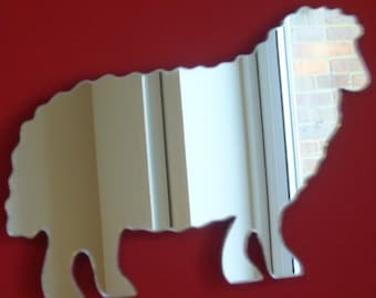 Sheep Mirror - 5 Sizes Available