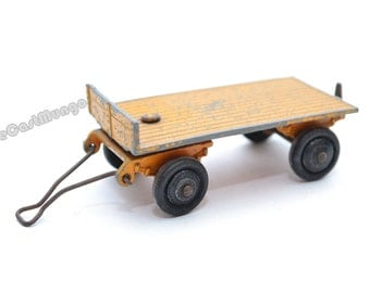 Dinky Toys Flat Truck Trailer - Meccano ltd - no.25C
