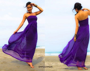 Simple purple sundress