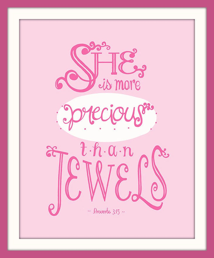 Quote For Newborn Baby Girl: Printable Bible Verse For Baby Girl Bible Quote Print Baby