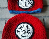 Made to Order: Thing 1 Thing 2 crochet beanies