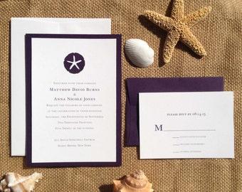 Beach Wedding Invite