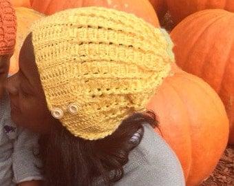 Perfect Cluster Mini Crochet Slouch Hat (Custom)