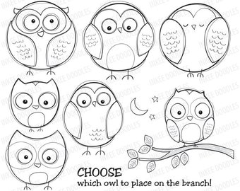 Cute Easy Owl Drawing Images amp Pictures Becuo
