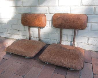 Stadium Seats, Vintage Stadium Seats, Boat Seats, Sports, Bleacher Seats, Stadium Chairs, Boat Chairs, Camping Travel Trailers Vintage RVs