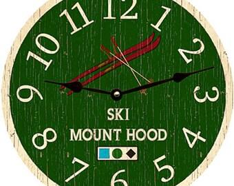Ski Clock-Personalized Ski Clock