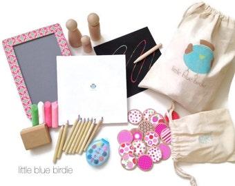 ... Wedding Activity, Flower Girl Gift, Kids Busy Bag, Stocking Stuffer