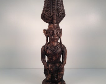 Wooden Figure of Nias Ancestor