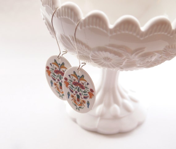 Flower & Fruit Earrings - Jugend Goes Bananas