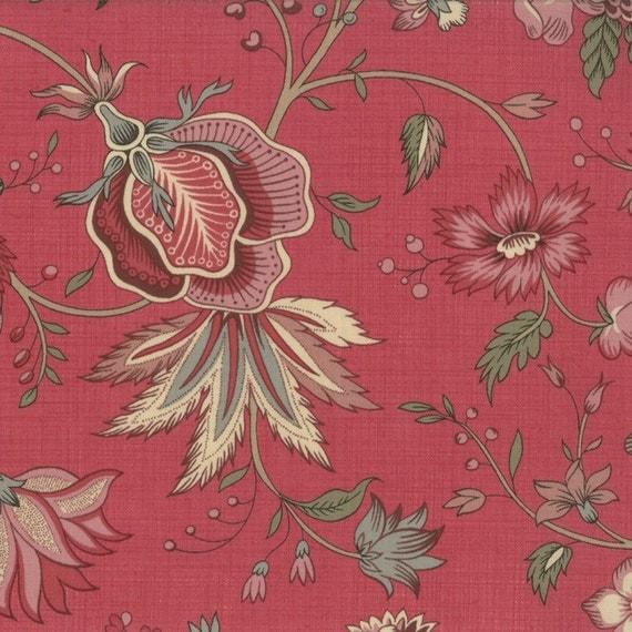 La belle fleur floral rose moda fabrics french general for La belle fleur