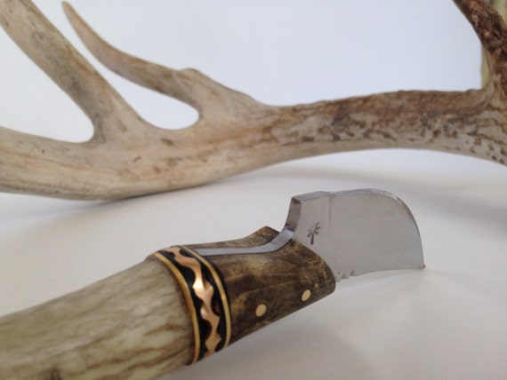 Handmade Elk Antler Squirrel Small Game Hunting Or Skinning