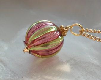 Murano Mini Blown Glass Necklace