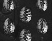 FANCY EGGS Chocolate Candy Mold Soap LOP-E095
