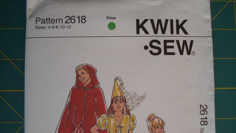 Sale kwik sew 2618 sewing pattern girls dress ups tutus bolero 600 jeuxipadfo Choice Image