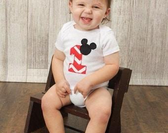 Mickey 1st Birthday Onesie/Shirt