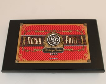 Cigar Box Valet, Authentic Rocky Patel Vintage Series