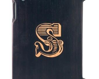 Charred Bamboo iPad 2,3,4 case, Initial design, UK