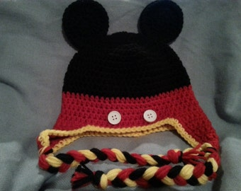 Mickey Mouse Inspired Hat