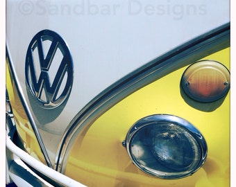 Lemon Meringue VW bus