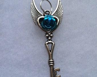 High Winged Rose Key