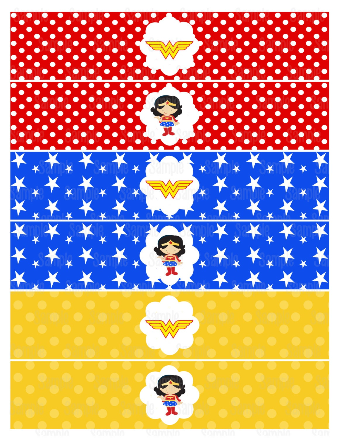 It's just a picture of Versatile Free Wonder Woman Printables