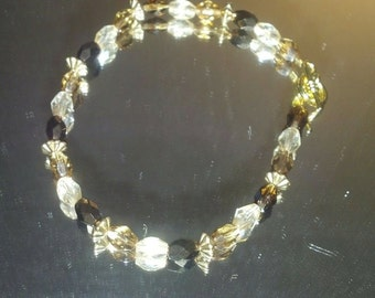 Brown Crystal Gold Bling