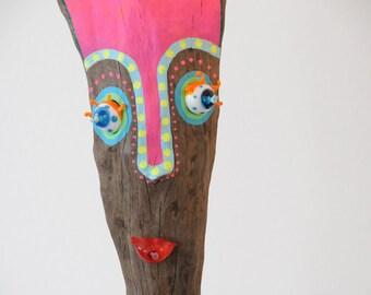 """driftwood sculpture """"Bonita"""""""